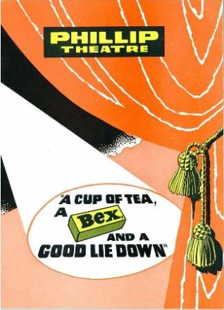 The cover of the theatre program for the 1965 revue