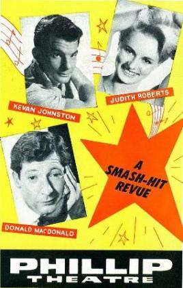 ... Kevan Johnston, Judith Roberts and Donald MacDonald. From the 1965-66 program.