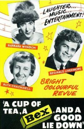 ... Barbara Wyndon, Reg Livermore and Ruth Cracknell ...