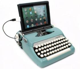 USB Typewriter, by Jack Zylkin at usbtypewriter.com, jack@usbtypewriter.com. Nominated by PC Magazine as one of the 'Top 10 iPad Accessories'