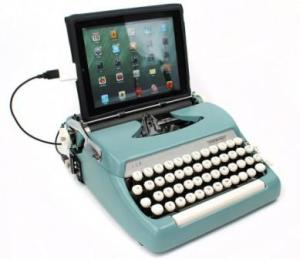 USB Typewriter, by Jack Zylkin at usbtypewriter.com, jack@usbtypewriter.com. copyright Jack Zylkin