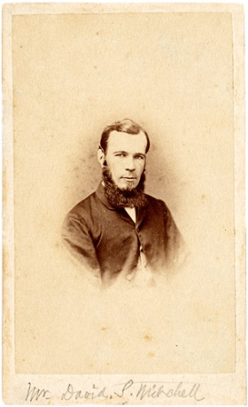 Portrait of David Scott Mitchell, 1864. State Library of NSW.