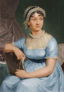 Portrait of Jane Austen.