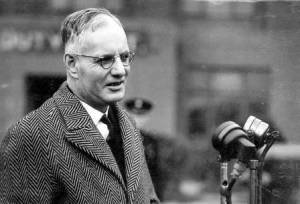 John Curtin in London, 1944 (Courtesy Vrroom, National Archives of Australia)