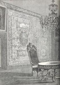 From: Rosenborg. Mindeblade fra de danske Kongers kronologiske Samling. Ved Carl Andersen. [With illustrations.] A monograph by Rosenborg Slot, published in Kjøbenhavn, 1867, p. 70. Shelfmark: British Library HMNTS 10280.f.16.