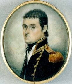 Matthew Flinders, c 1800, artist unknown. State Library of NSW, Orig Min 52
